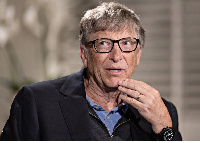 Bill Gates, co-founder for Microsoft Corp.