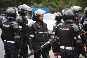Members of the Ghana Police Service