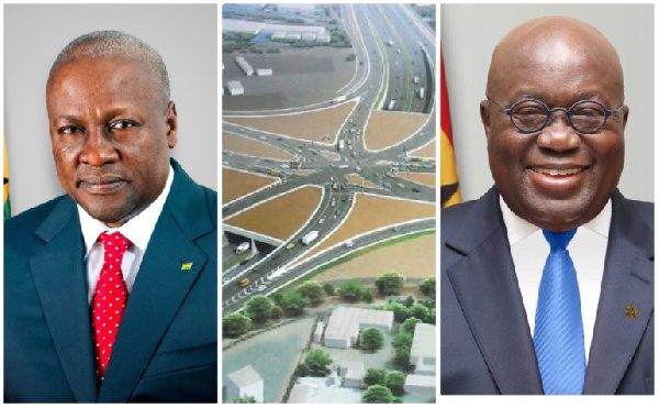 Tema Motorway Interchange: Mahama or Akufo-Addo legacy? - Here are the bare facts