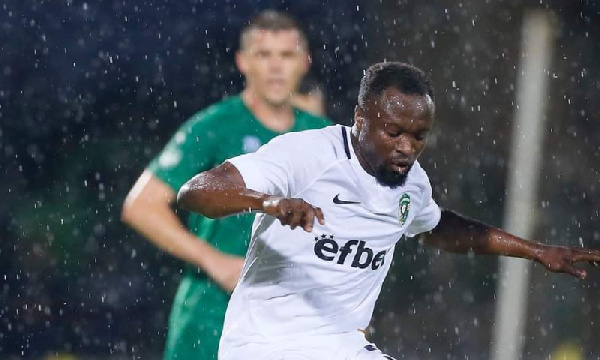 Bernard Tekpetey eyes Black Stars return after league triumph with Ludogorets