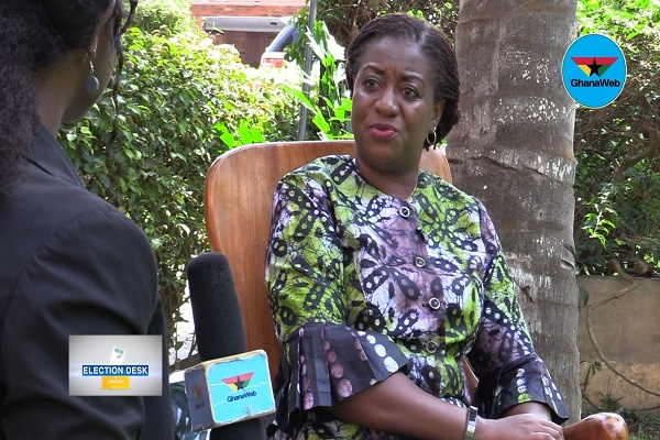 Ghana can only have a peaceful election if you vote for PPP – Brigitte Dzogbenuku