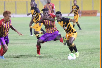 Accra Hearts of Oak drew 2-2 with Ashantigold on matchday two