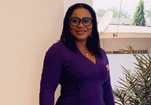 Former chairperson of the Electoral Commission, Charlotte Osei