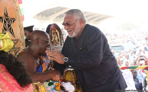 Tension between Rawlings and I ceased in 2012 – Akufo-Addo