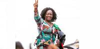 Prof. Jane Naana Opoku-Agyemang is the running mate of NDC's flagbearer, John Mahama