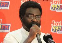 Dr Richard Amoako Baah, a Political Science Lecturer , KNUST
