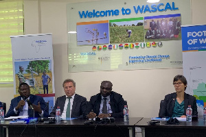 Dr Moumini Savadogo was speaking at a media briefing organised by WASCAL
