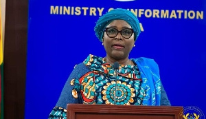 Minister for Local Government and Rural Development, Hajia Halima Mahama