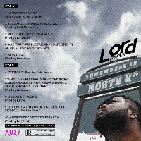 Cover art and track list of
