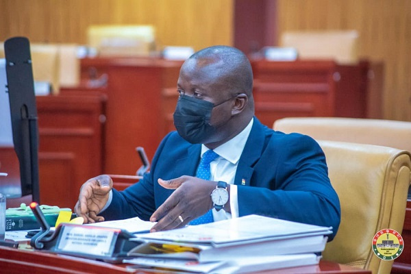 Abu Jinapor using personal furniture in his office – Kennedy Agyapong discloses