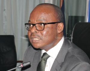 Governor of the Bank of Ghana, Dr. Ernest Addison
