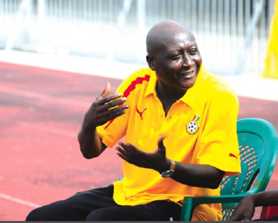 Coach James Kuuku Dadzie