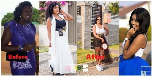 Akosua Vee's bleaching accusation started after her husband made a post teasing Becca of bleaching