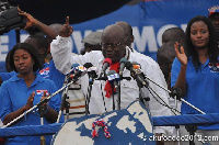 File photo: Nana Akufo-Addo, 2016 Flagbearer of the New Patriotic Party