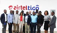 AirtelTigo leadership with NCR executives and members