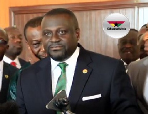 Chairman of the Finance Committee, Dr. Mark Assibey-Yeboah
