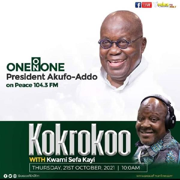 LIVESTREAMED: Kwami Sefa Kayi interviews Akufo-Addo on Peace FM