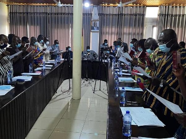 Swearing in of Bono Reg Land Commission