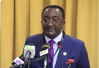 Dr. Owusu Afriyie Akoto, the Minister of Food and Agriculture
