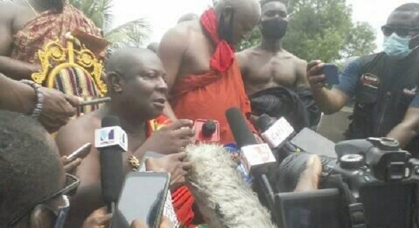 Aflao Paramount chief calls for re-demarcation of Ghana-Togo border