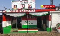 The new Odododiodioo Constituency NDC office