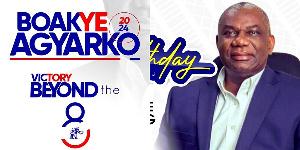 Boakye Agyarko Beyond 8