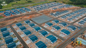 The National Housing Mortgage Fund Estates in Tema