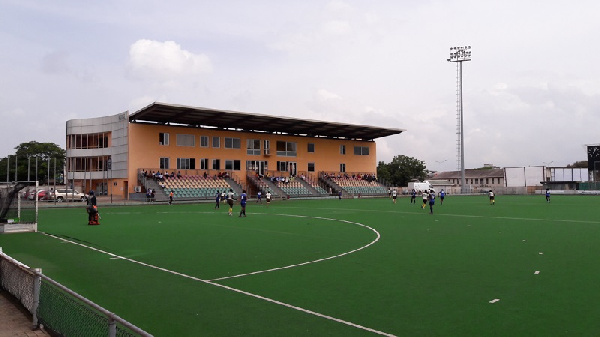 The hockey pitch was inaugurated in 2008 by former president, Atta-Mills