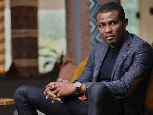 Mark Okraku Mantey, President of the Creative Arts Council