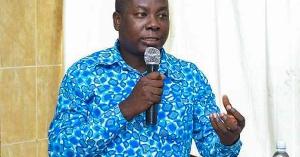 Dr. Gideon Boako, Economist and Spokesperson for the Vice President
