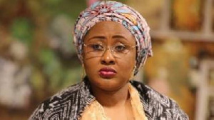 Nigeria's First Lady Aisha Buhari asserted that she can't be stopped from talking