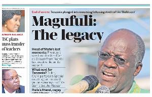 Tanzania will bury the late President John Magufuli on March 25