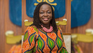 Prof. Nana Aba Appiah Amfo, if confirmed, will be the first female to be appointed to the position