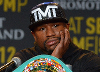 Floyd Mayweather Jr. was expected to be in Ghana last year