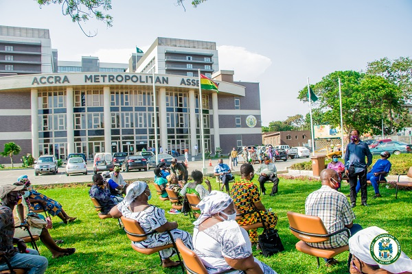 Accra City Hall reopens for business