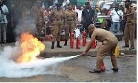 Fire Service officers - File photo