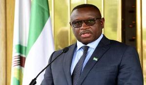 Julius Maada Bio is President of Sierra Leone