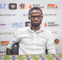 Eleven Wonders coach, Ignatius Osei-Fosu