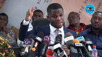 Sammy Gyamfi, National Communications Officer of the National Democratic Congress (NDC)