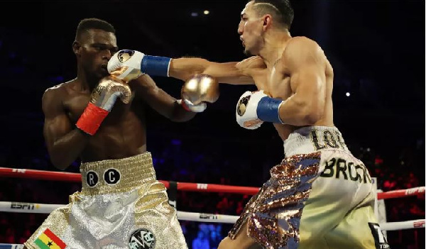 Richard Commey loses IBF title to Teofimo Lopez by TKO