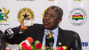 Chief Executive Officer of the National Identification Authority, Professor Ken Attafuah