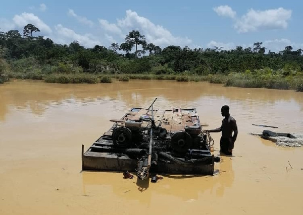 We need speedboats to fight galamsey - Assin North DCE cries out