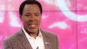 The late Pastor TB Joshua