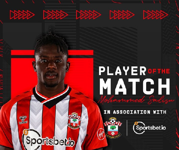 Mohammed Salisu voted Southampton\'s PoTM in victory over Leeds United