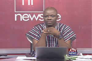 Host of Newsfile, Samson Lardy Anyenini