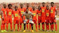 Asante Kotoko players