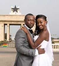 Carranzar Naa Okailey Shooter and husband