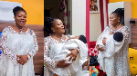 Mercy Asiedu welcomes first child with husband after 3 years of marriage