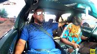 D Black on Celebrity Ride with Zionfelix