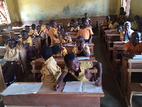 Kperisi M.A school gets 300 new desks
